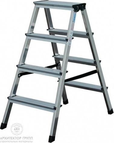 Двухсторонняя лестница-стремянка 2х3 ступ. SePro® D с анодированным покрытием