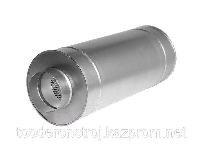 Шумоглушитель  трубчатый круглый 100 - 980 серия 5.904 - 17