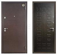 Входная металлическая  дверь  Бульдорс  33 венге