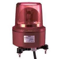 Красный вращающийся сигнальный маячок,230 В пер. ток, IP67, монтажный диаметр 130мм