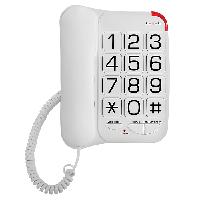 Телефон проводной Texet TX-201