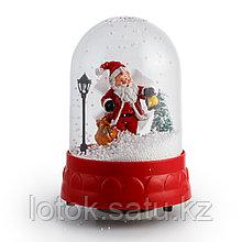 """Снежный шар механический """"Дед Мороз"""""""