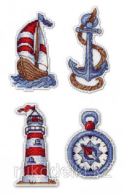 """Набор для вышивания """"Морское настроение. Магниты"""""""