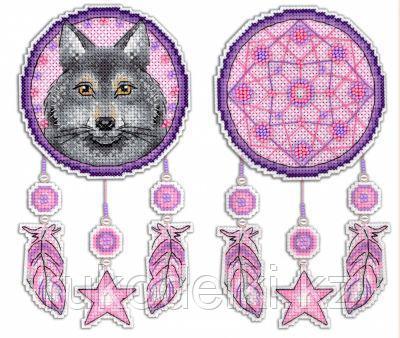 """Набор для вышивания """"Ловец снов. Волк"""""""