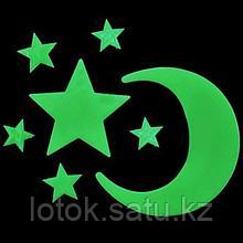 Светящиеся наклейки на потолок «Звездное небо»