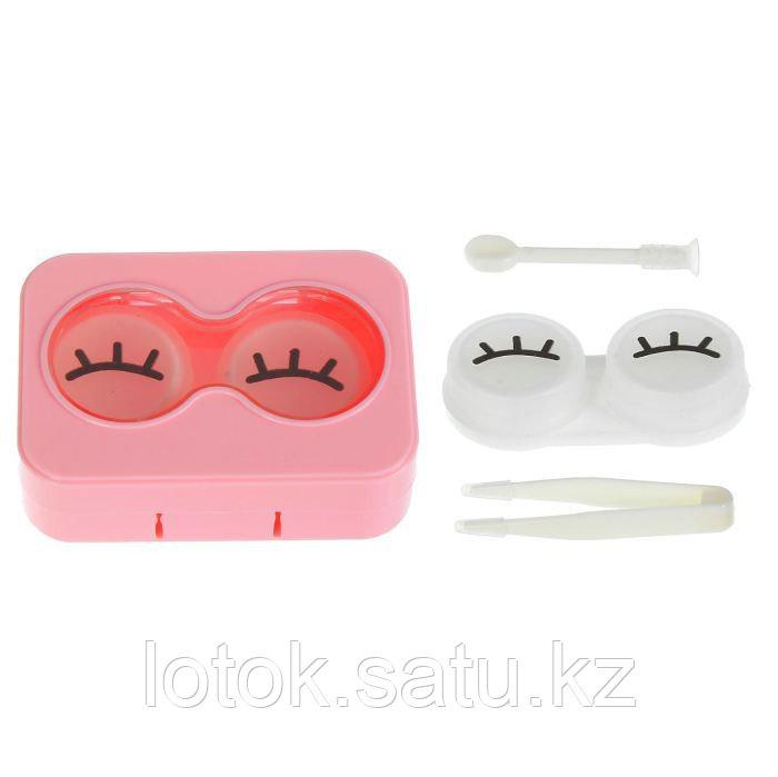 Набор для контактных линз в футляре - фото 2