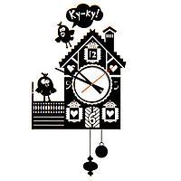 Часы - наклейка на стену