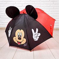 "Зонт детский с ушками ""Микки Маус"""