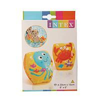 Нарукавники детские 56662 Intex «Подводный мир» 1-3 лет