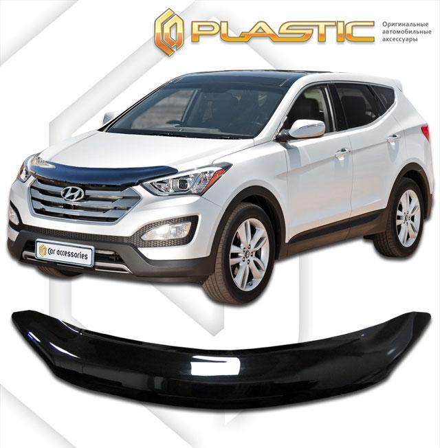Дефлектор капота Hyundai Santa Fe 2012-2017