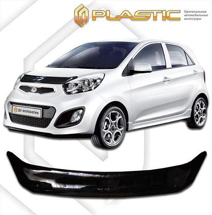 Дефлектор капота Kia Picanto 2011-2017
