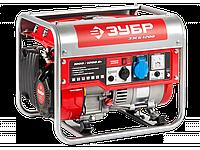 Генератор ЗУБР бензиновый, 4-х тактный, ручной пуск, 1200/1000Вт, 220В