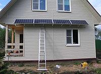 Автономная солнечная электростанция на 0,75 кВт/день (0,15 кВт/час)