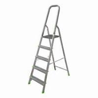 Алюминиевая лестница-стремянка 5-и ступ, Н=1,03/3,10м (Ам705)