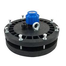 Оголовок для скважин герметичный скважинный ОГС 125-165/25 с проходной муфтой