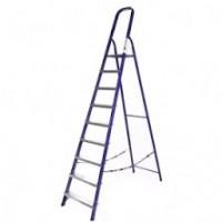 Стальная лестница-стремянка 9-и ступ Н=1,87/3,9м (М8409)