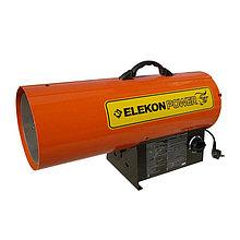 Теплопушка газовая Elekon Power DLT-FA150P, (35-44кВт, 2,54-3,2 кг/ч , электроподжиг, шланг и редуктор)