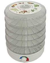 Сушка Ветерок 5 лотков (электросушилка 5 прозрачных поддонов, гофр. упаковка)