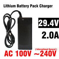 Зарядное устройство для электровелосипеда 29.4V 2A
