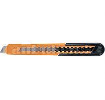 Нож, 9 мм, выдвижное лезвие, пластиковый усиленный корпус//Sparta 78906 (002)