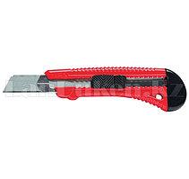 Нож, 18 мм, выдвижное лезвие, металлическая направляющая// Matrix 78918 (002)