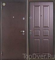 Входная металлическая  дверь  Бульдорс  12С C-2