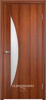 """Межкомнатная дверь Verda  Тип С-6 (остекленные """"САТИНАТО"""" , глухие)"""