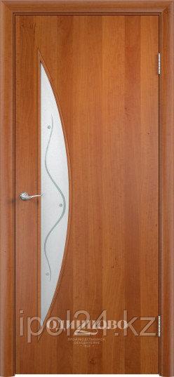 """Межкомнатная дверь Verda  Тип С-6 (остекленные """"САТИНАТО"""" с фьюзингом)"""