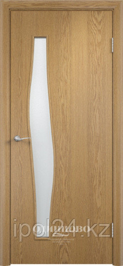"""Межкомнатная дверь Verda  Тип С-10 (остекленные """"САТИНАТО"""" с фьюзингом)"""