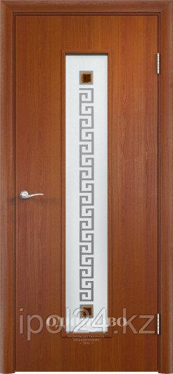Межкомнатная дверь Verda Тип С-17  (остекленное с художественным стеклом)