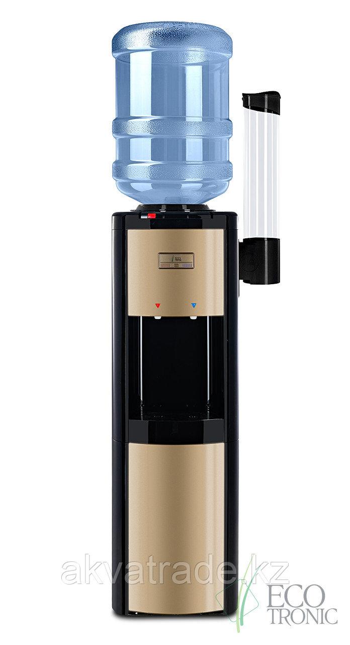 Диспенсер для воды Ecotronic P4-L black/gold
