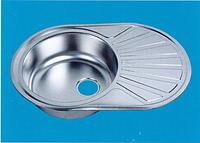 Мойка врезная левая ZEUS 7750-E 160mm 0,6