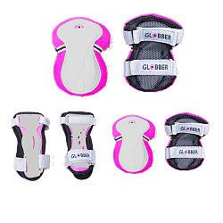 Набор детской защиты Globber XXS, розовый (до 25 кг)