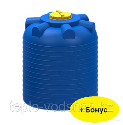 Емкость цилиндрическая вертикальная 300 литров, фото 2