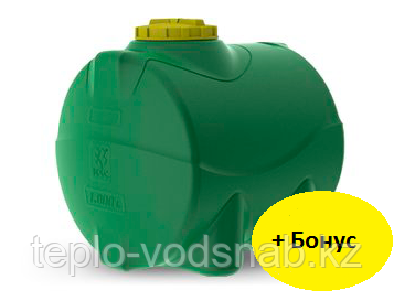Емкость цилиндрическая горизонтальная 100 литров, фото 2