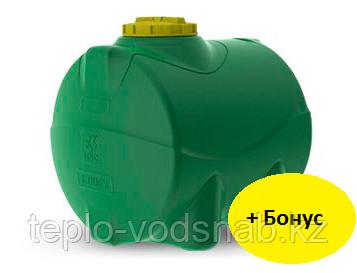Емкость цилиндрическая горизонтальная 200 литров, фото 2