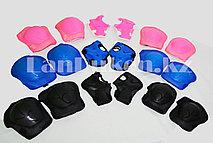 Набор защиты для роликов черный синий