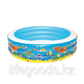 """Надувной бассейн круглый """"Подводный мир"""" 152х51 см, Bestway 51121, фото 2"""