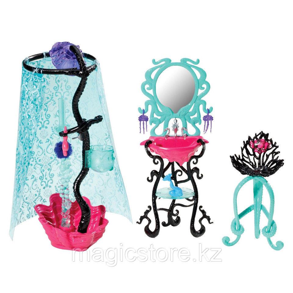 Душевая Monster High Лагуны Блю Lagoona Blue Shower and Vanity Playset - фото 4