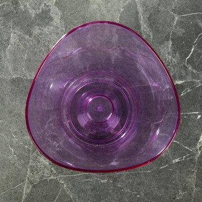 """Кашпо 1,3 л """"Волна орхидейная"""", цвет фиолетовый, фото 2"""