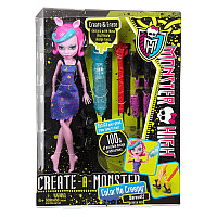 Кукла Monster High Werewolf Color me Creepy, фото 1