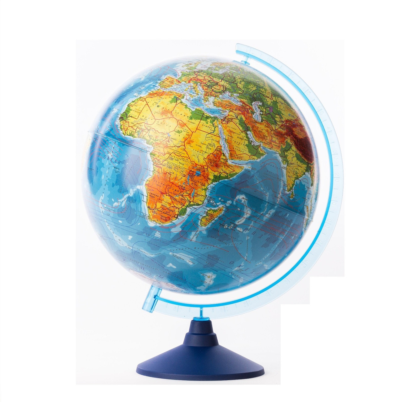 Физико-политический глобус, 32 см (подсветка)
