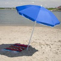 Зонт пляжный диаметр 2,4м, фото 1