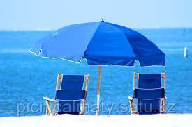 Зонт пляжный диаметр 2,4м - фото 4