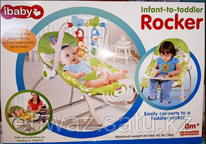 Детское кресло-качалка Infant to Toddler Rocker, I-baby