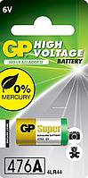 Батарейка GP 4LR44 6V (476A), 1шт   (GP 476A-2C1)