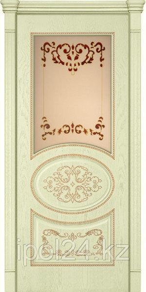 Межкомнатная дверь Verda Комфорт Фламенко 3D