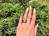 Кольцо керамика с жемчугом, фото 4
