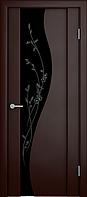 Межкомнатная дверь Verda Триплеск  Ирис тёмный