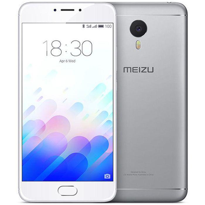 Смартфон Meizu M3 Note 16 Гб, Silver